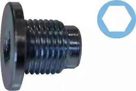 Corteco 407711H - Уплотнительное кольцо, резьбовая пробка маслосливн. отверст. autodif.ru