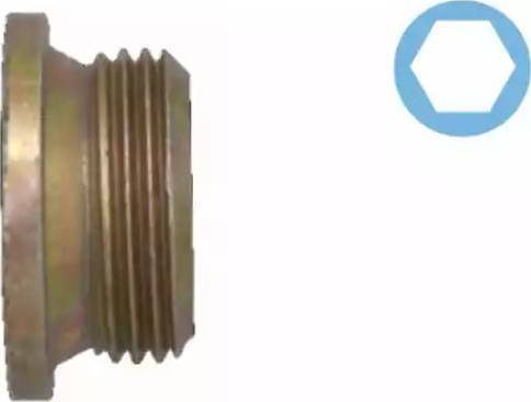 Corteco 005501H - Уплотнительное кольцо, резьбовая пробка маслосливн. отверст. autodif.ru