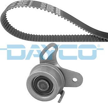 Dayco KTB566 - Комплект ремня ГРМ autodif.ru