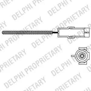 Delphi ES1096612B1 - Лямбда-зонд autodif.ru