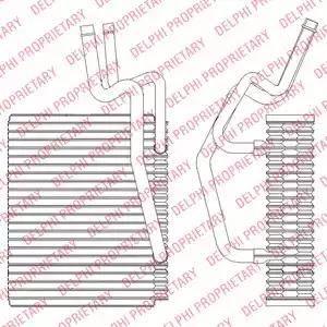 Delphi TSP0525204 - Испаритель, кондиционер autodif.ru