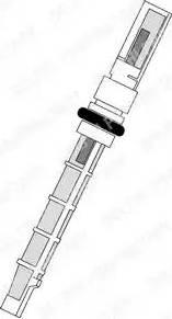 Delphi TSP0695190 - Расширительный клапан, кондиционер autodif.ru