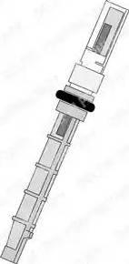 Delphi TSP0695193 - Форсунка, расширительный клапан autodif.ru