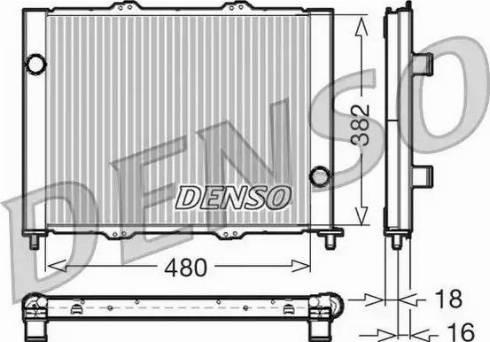 Denso DRM23099 - Модуль охлаждения autodif.ru