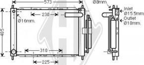 Diederichs DCM3832 - Модуль охлаждения autodif.ru
