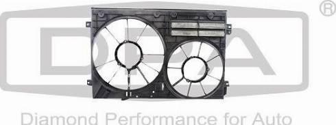 DPA 11210808502 - Вентилятор, охлаждение двигателя autodif.ru