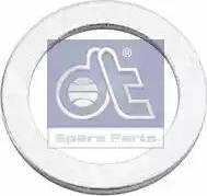 DT Spare Parts 9.01006 - Уплотнительное кольцо, резьбовая пробка маслосливн. отверст. autodif.ru