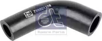 DT Spare Parts 119180 - Гидравлический шланг, рулевое управление autodif.ru