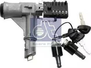 DT Spare Parts 119231 - Замок вала рулевого колеса autodif.ru