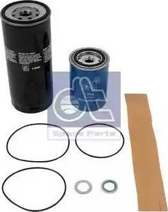 DT Spare Parts 1.34077 - Комплект фильтра autodif.ru