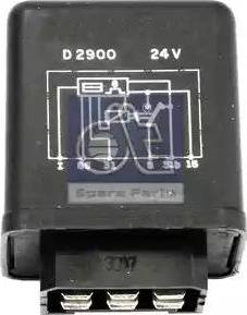 DT Spare Parts 121097 - Реле, интервал включения стеклоочистителя autodif.ru