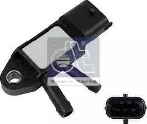 DT Spare Parts 756625 - Датчик, давление выхлопных газов autodif.ru