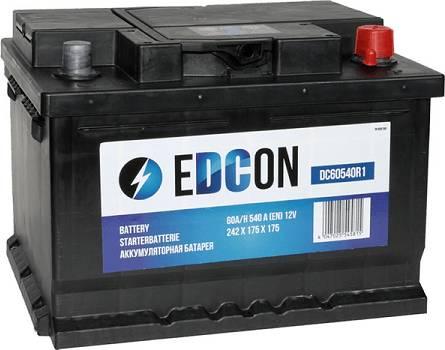 Edcon DC60540R1 - Стартерная аккумуляторная батарея autodif.ru