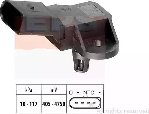 EPS 1.993.090 - Датчик, давление выхлопных газов autodif.ru