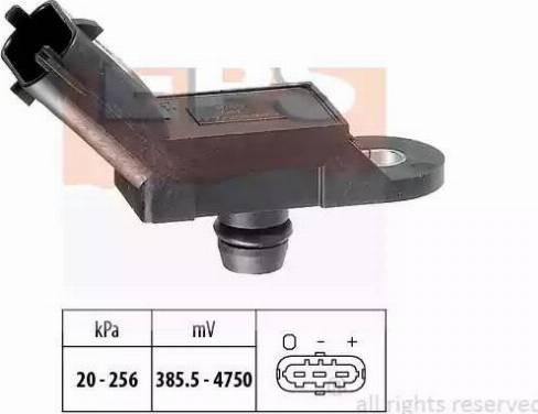 EPS 1993055 - Датчик, давление выхлопных газов autodif.ru
