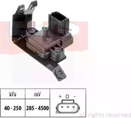 EPS 1993020 - Датчик, давление выхлопных газов autodif.ru