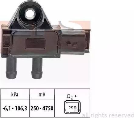 EPS 1993271 - Датчик, давление выхлопных газов autodif.ru