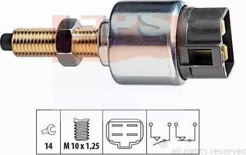 EPS 1.810.044 - Выключатель, привод сцепления (Tempomat) autodif.ru