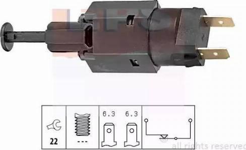 EPS 1810050 - Выключатель фонаря сигнала торможения autodif.ru