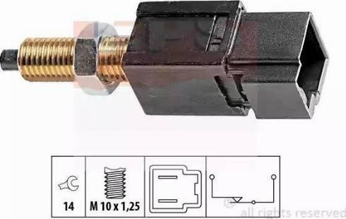 EPS 1.810.052 - Выключатель, привод сцепления (Tempomat) autodif.ru