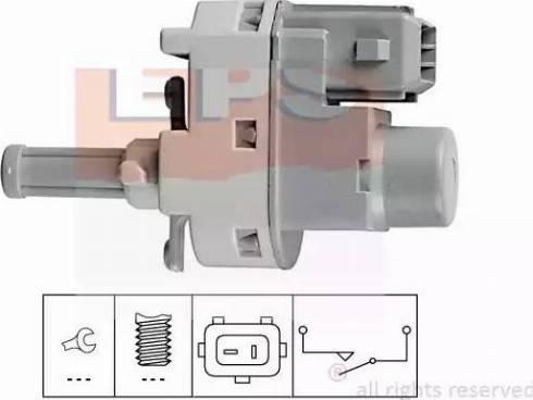 EPS 1810139 - Выключатель, привод сцепления (Tempomat) autodif.ru