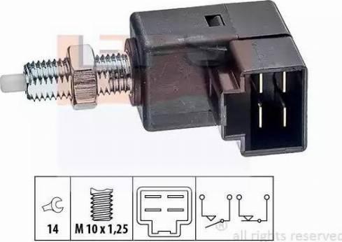 EPS 1.810.294 - Выключатель, привод сцепления (Tempomat) autodif.ru