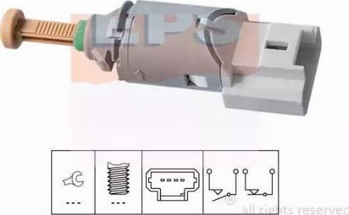 EPS 1.810.227 - Выключатель, привод сцепления (Tempomat) autodif.ru