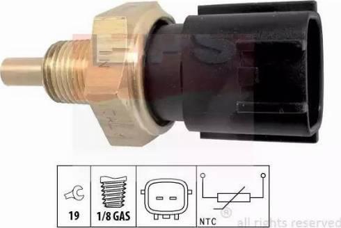 EPS 1830358 - Датчик, температура охлаждающей жидкости autodif.ru