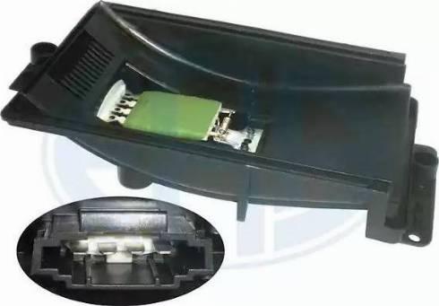 ERA 665012 - Сопротивление, вентилятор салона autodif.ru