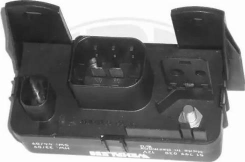 ERA 661270 - Блок управления, время накаливания autodif.ru