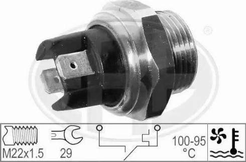 ERA 330303 - Термовыключатель, вентилятор радиатора autodif.ru