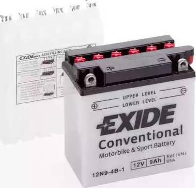 Exide 12N94B1 - Стартерная аккумуляторная батарея autodif.ru