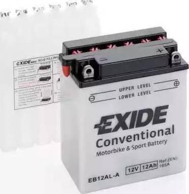 Exide 12N553B - Стартерная аккумуляторная батарея autodif.ru