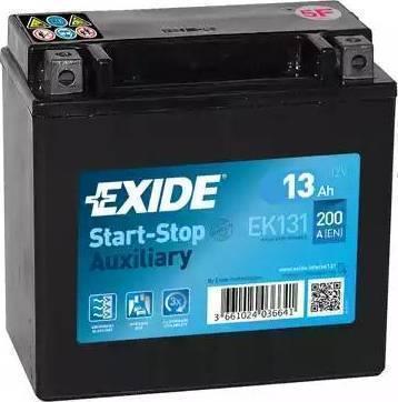 Exide EB4LB - Стартерная аккумуляторная батарея autodif.ru