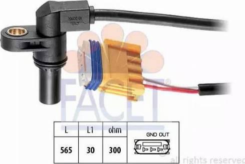 FACET 90469 - Датчик частоты вращения, автоматическая коробка передач autodif.ru