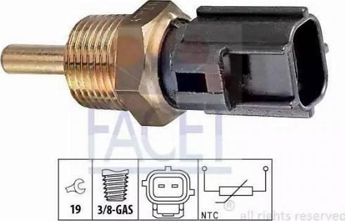 FACET 7.3230 - Датчик, температура охлаждающей жидкости autodif.ru