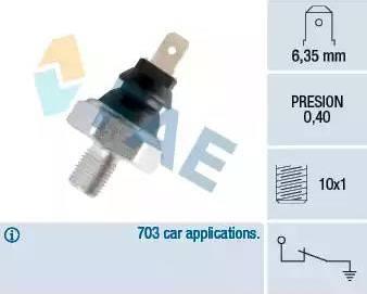 FAE 11070 - Датчик давления масла autodif.ru