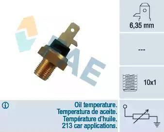 FAE 31610 - Датчик, температура охлаждающей жидкости autodif.ru