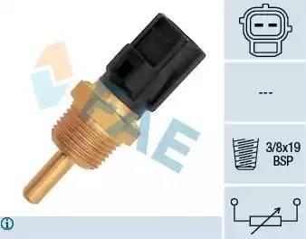 FAE 33310 - Датчик, температура охлаждающей жидкости autodif.ru