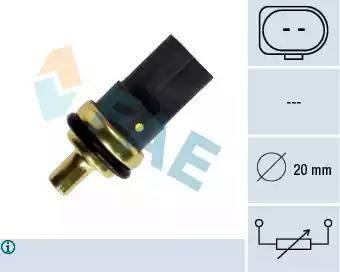 FAE 33784 - Датчик, температура охлаждающей жидкости autodif.ru