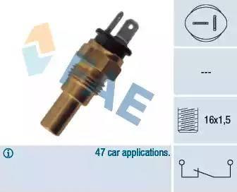 FAE 32742 - Датчик, температура охлаждающей жидкости autodif.ru