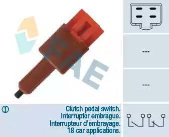 FAE 24455 - Выключатель, привод сцепления (Tempomat) autodif.ru