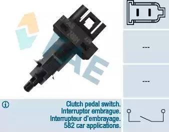 FAE 24591 - Выключатель, привод сцепления (Tempomat) autodif.ru