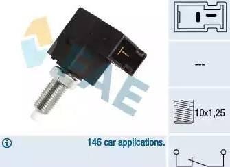 FAE 24544 - Выключатель, привод сцепления (Tempomat) autodif.ru