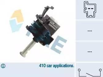FAE 24854 - Выключатель, привод сцепления (Tempomat) autodif.ru