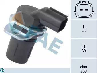 FAE 79181 - Датчик частоты вращения, автоматическая коробка передач autodif.ru