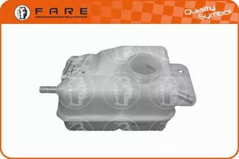 FARE SA 13652 - Компенсационный бак, охлаждающая жидкость autodif.ru