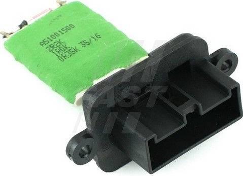 Fast FT59101 - Блок управления, отопление / вентиляция autodif.ru