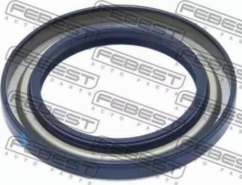 Febest 95GAS49720808X - Уплотнительное кольцо вала, приводной вал autodif.ru