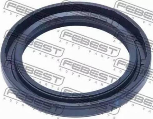 Febest 95GAY43580707X - Уплотнительное кольцо вала, приводной вал autodif.ru